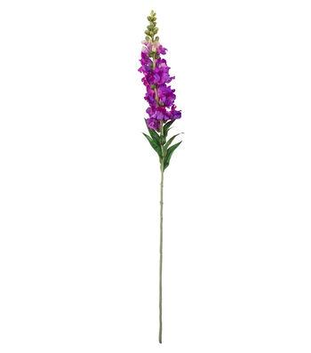 """Blooming Spring 36.5"""" Snapdragon Stem-Purple"""