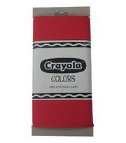 Riley Blake© Crayola® Fabric 1yd Cut-Scarlet, , hi-res