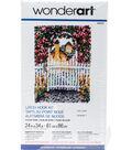Wonderart Latch Hook Kit 24\u0022X34\u0022-Garden Gate