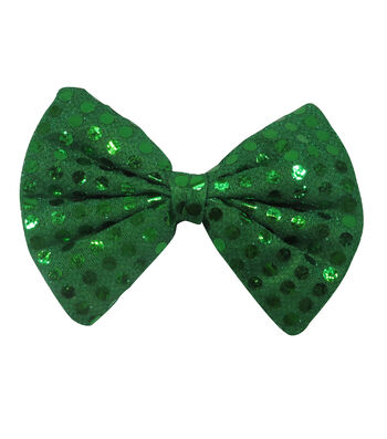 St. Patrick's Day Small Bow Tie-Green