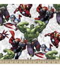 Marvel\u0027s The Avengers Print Fabric