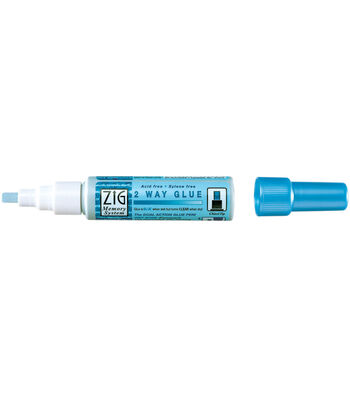 Zig 2-Way Glue Pen-Chisel Tip