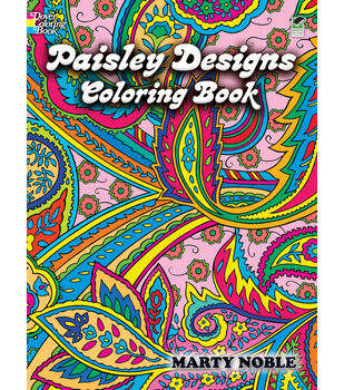 adult coloring book dover publications paisley designs - Coloring Books