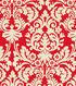 Waverly Print Fabric 54\u0022-Close Up/Scarlet