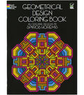 Adult Coloring Book-Dover Publications Geometrical Design