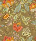 Waverly Print Fabric 54\u0022-Modern Poetic/Flaxseed