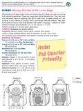 Mccall Pattern K3925 No Size -Kwik Sew Pattern