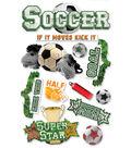 Soccer 3D Sticker