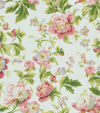 """Waverly Upholstery Fabric 54""""-Forever Yours Spring"""