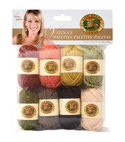 Lion Brand Vanna's Palette Bonbons Yarn 8/Pkg- Earthy, , hi-res