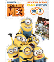 Bendon Despicable Me 3 Activity Book, , hi-res