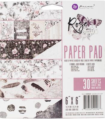"Prima Marketing Double-Sided Paper Pad 6""X6""-Rose Quartz"