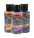 DecoArt Traditions 3 pk 3 fl. oz. Acrylic Paints