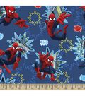 Marvel Spiderman Photo Burst Cotton Fabric