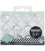 Clear 12pk-marquee Bulb Caps 1, , hi-res