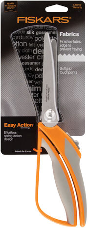 "Fiskars Easy Action Pinking Shears 10.5"", , hi-res"
