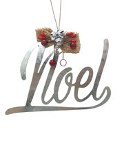 Maker's Holiday Christmas Handmade Holiday Galvanized Noel Ornament, , hi-res