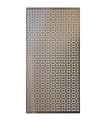 M-D Hobby & Craft 12''x24'' Aluminum Metal Sheet-Chain Link