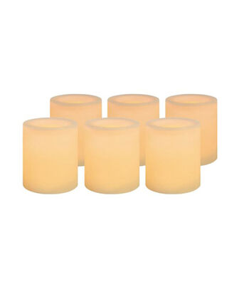 Hudson 43™ Candle&Light Collection 6 Pack Cream Votive Unscented