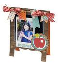 Sizzix Thinlits Lori Whitlock Die-Chalkboard Easel Card