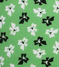 1930\u0027s Cotton Fabric 43\u0027\u0027-Tossed Bows on Green