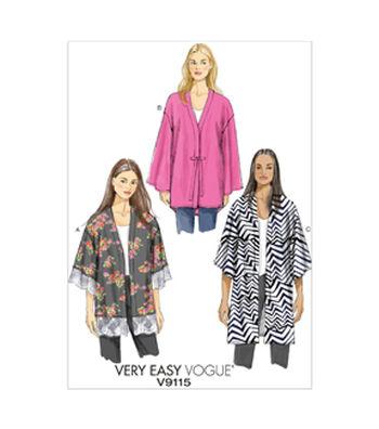 Vogue Patterns Misses Jacket-V9115