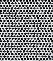 "Keepsake Calico™ Cotton Fabric 43""-Black Shaded Dot, , hi-res"