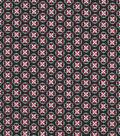 Quilter\u0027s Showcase™ Cotton Fabric 44\u0022-Medallion On Black