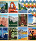 Are We There Yet? Double-Sided Cardstock 12\u0022X12\u0022-National Parks