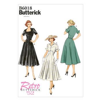 Butterick Misses Dress-B6018