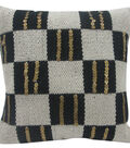 Idea Market Hand-Done 20\u0027\u0027x20\u0027\u0027 Woven Pillow-Checkerboard