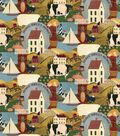 Rural Fabric- Homestead Collage Cotton