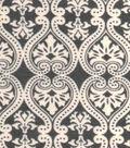 Snuggle Flannel Fabric 42\u0022-Damask Grey