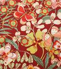 Alexander Henry Cotton Fabric 44\u0022-Chiara Brick Red