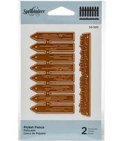 Spellbinders Shapeabilities Die D-Lites-Picket Fence, , hi-res