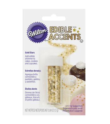 Wilton® Edible Glitter-Gold Stars