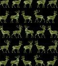 Snuggle Flannel Fabric 42\u0027\u0027-Camo Deer