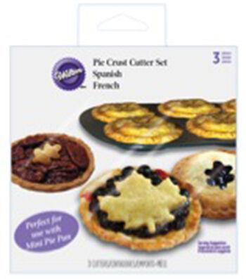 Wilton® Mini Pie Dough Cutter Set-Autumn