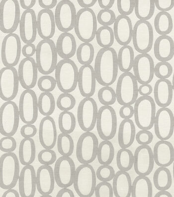 "HGTV Home Upholstery Fabric 56""-Looped Fog"