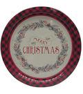Maker\u0027s Holiday Cookie Platter Tin-Merry Christmas