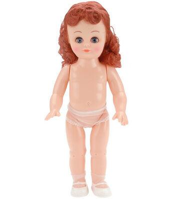 "Darice 13.5"" Fashion Girl Doll-Red Hair"