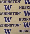 University of Washington Huskies Canvas Fabric 58\u0022-Logo
