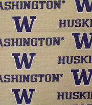 "University of Washington Huskies Canvas Fabric 58""-Logo, , hi-res"