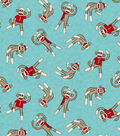 Anti-Pill Fleece Fabric 58\u0022-Sock Monkey
