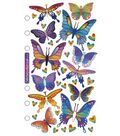 Sticko Stickers-Foil Butterflies