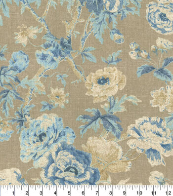 Home Essentials™ Print Fabric 45''-Bluebell Among the Roses