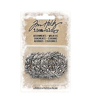 Tim Holtz Idea-ology Findings Adornment-Wreaths, , hi-res