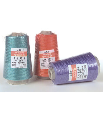 DMC 6 Strand Cotton Cones 450 Yds