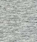 Knit Solid Scuba Fabric 57\u0022-Spacedye Grey