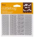 Cricut® Cuttlebug® Pack of 4 Confetti Dies-All Girl